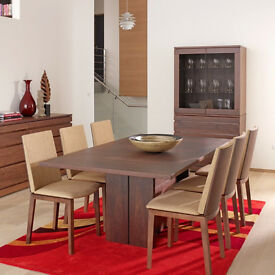 DINING ROOM TABLE AND CHAIRS (CHOICE OF 2 TABLES)