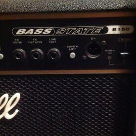 Marshall B150 bass amp