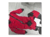 Drysuit MUSTO MPX 3-layer GOR-TEX Junior lg 12-13 yrs + 2 x thermal underfleece + hood. all v good
