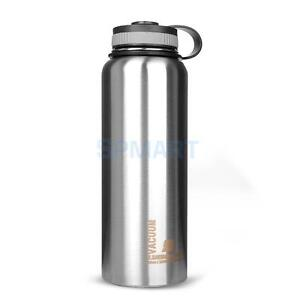 1L BPA Free Vacuum Insulated Stainless Steel Cycling ...