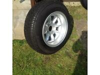 Alloy wheels Austin mini or MG midget