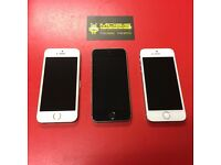 APPLE IPHONE 5S 16GB SIMFREE IN SILVER COMES WITH CHARGER AND THREE MONTHS WARRANTY