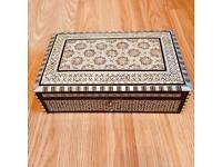 Egyptian handcrafted jewellery box