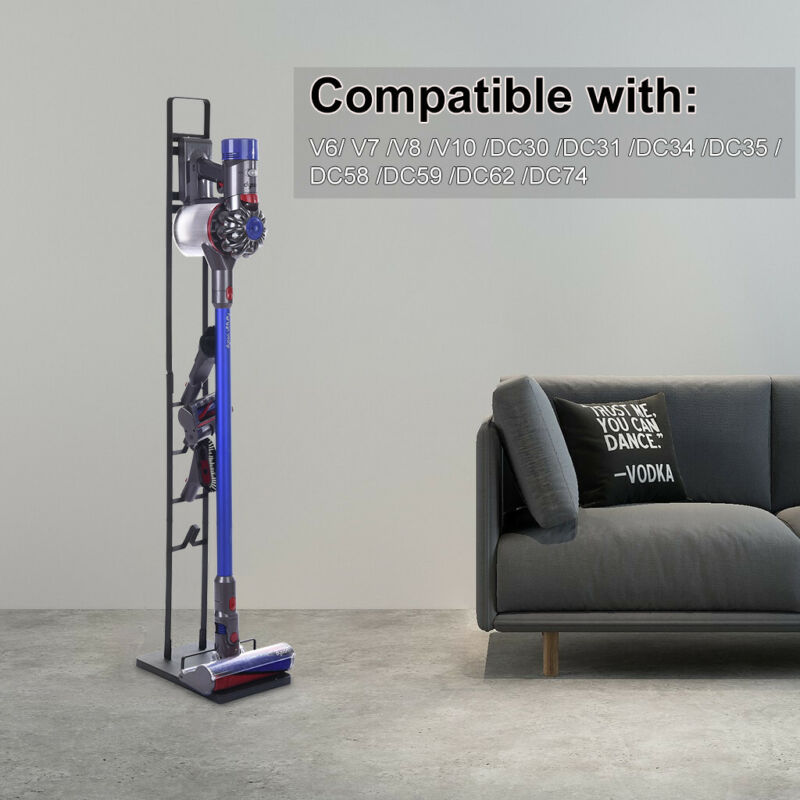 Metal Vacuum Cleaner Floor Stand Holder Bracket For Dyson Ha