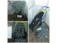Armadillo city three bears pram with matching liner CAN POST