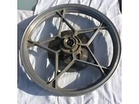 For Sale - Suzuki Motorcycle Front Wheel & Disc - c1980 GS models