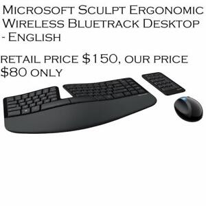 Microsoft Sculpt Ergonomic Keyboard Mouse & Combo *VIEW PICS INSIDE*