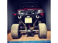 Quadzilla 500xlc with R6 super bike engine quad road legal