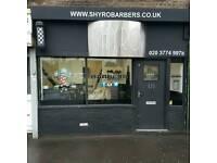 Barber shop for sale/rent