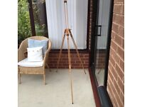 Wooden easel by Windsor and Newton