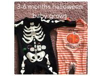 Halloween baby grows