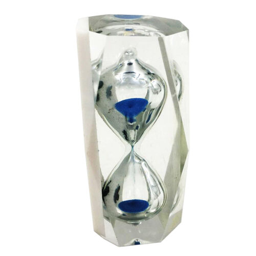 14 face Crystal Hourglass Sand Clock Timer Timing Tools 3 Mi