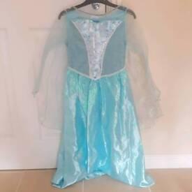 Disney Frozen Elsa Dress age 7-8