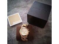 Michael Kors MK3131 Runway Gold Chronograph Ladies Watch