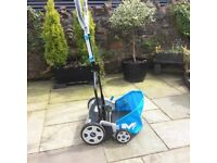 Keep fit this summer ! Virtually brand new hand powered lawn mower