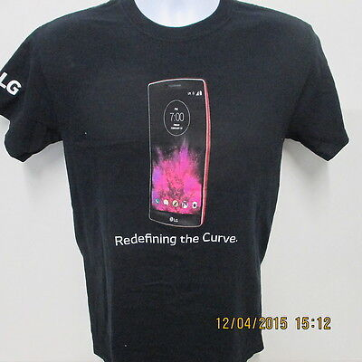 LG G Flex2/SPRINT Redefining the Curve T-Shirt, Black, S/S, Medium for sale  Shipping to India