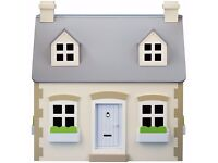 John Lewis Wooden dolls house cosy cottage, brand new!!! BARGAIN