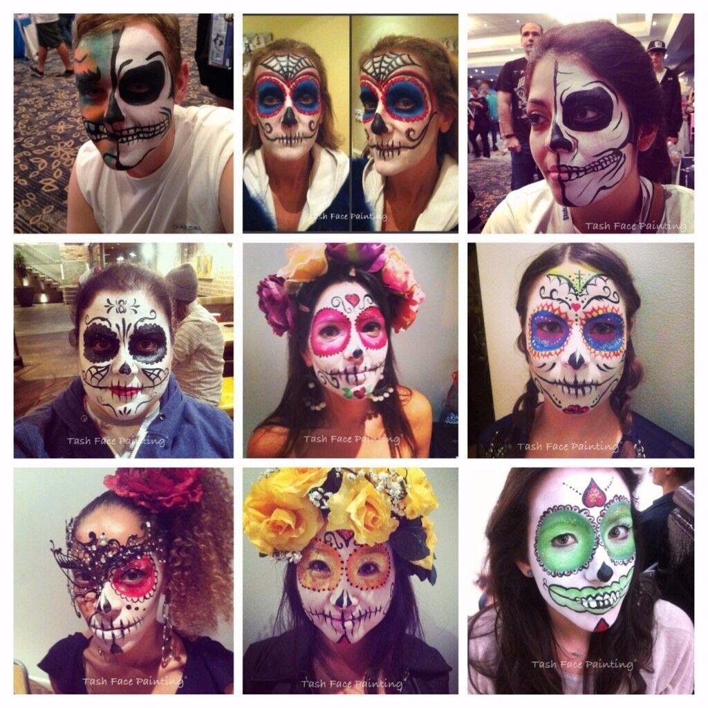 Tash Face Painting- London Face Painter Halloween