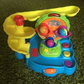 Fisherprice tumbling and twirling fun park jumping beans