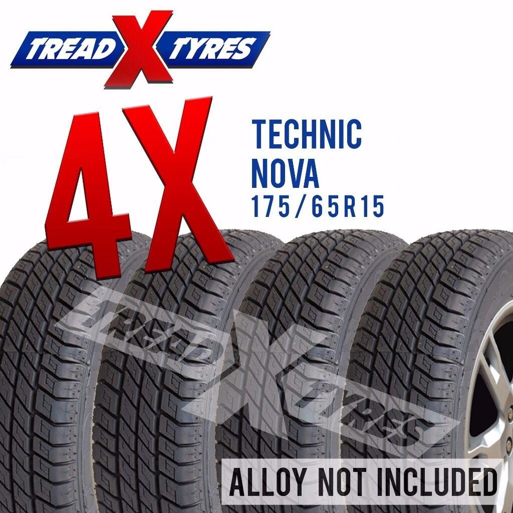 4 x New 175/65R15 Technic Nova Tyre - 175 65 15 - Fitting Available