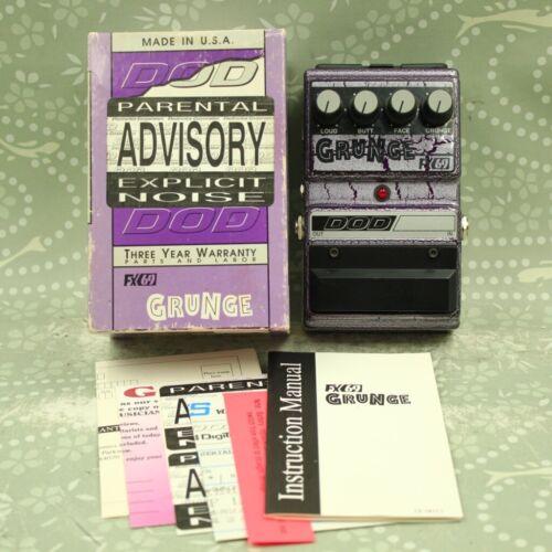 DOD FX69 Grunge Distortion With Original Box Guitar Effect Pedal 410142