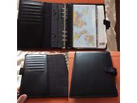 Filofax (A5 size) with accessories
