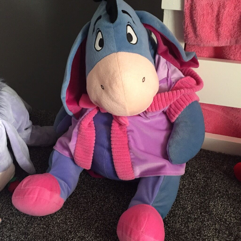 Big eeyorein Llanedeyrn, CardiffGumtree - Big eeyore teddy. Need gone as so big!! From smoke free and pet from. Can deliver