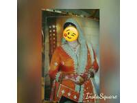 Mehndi shararah