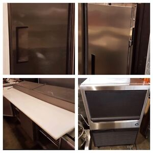Slush Machines, Prep Tables, Freezers, Coolers & Ice-Machines