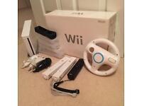 Nintendo Wii Console & Games Bundle in original Box