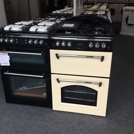 Leisure cream gourmet gas cooker new graded 12 months gtee
