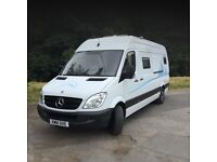 Mercedes Sprinter Campervan, newly professionally converted to a very high specification.