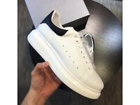 Alexander McQueen Sneakers (Black/White)