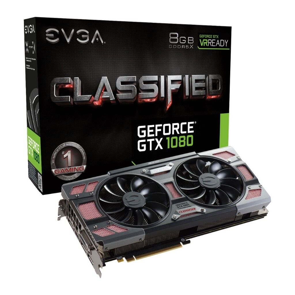 EVGA GeForce GTX 1080 CLASSIFIED 8GB with CORSAIR Hydro H90 and Nzxt Kraken  G10 - 1 Year Warranty!!! | in Southampton, Hampshire | Gumtree