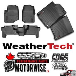 Weathertech Floor Liners | Cargo Liners | Ready to Ship at Motorwise.ca | Order Online & Get Free Shipping Canada Wide