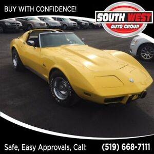 1976 Chevrolet Corvette STINGRAY, T-TOP, MINT, RARE COLLECTORS!!