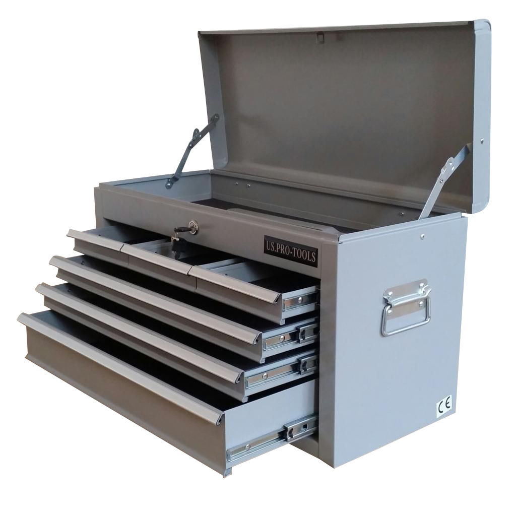 208 US PRO TOOLS AFFORDABLE 6 DRAWERS STORAGE CHEST BOX