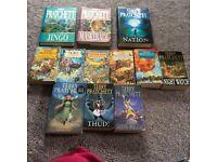 Terry pratchett books discworld novels jingo trucker colour of magic fifth elephant going postal