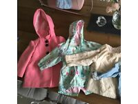 Toddler girls jackets