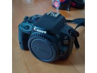 Canon EOS 100D DLSR Camera Body Only + Case