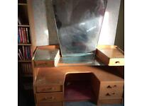 Early. G plan dressing table