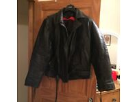 MOTOR BIKE JACKET AND BOOTS