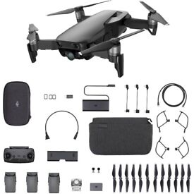 4 week old Dji Mavic air flymore package and extras