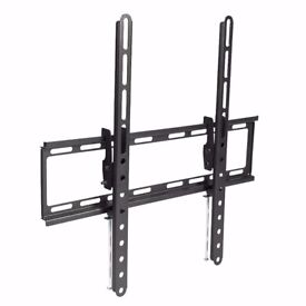 TV WALL BRACKET MOUNT WITH TILT 23 - 55 35 kg ALL FIXINGS NEW