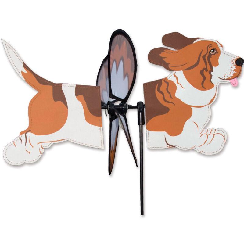 Basset Hound Garden Wind Spinners