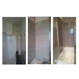 Inside/out tiling, wet wall boards and pvc. Free quotes!!!