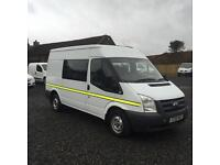 FORD TRANSIT T280 CREWVAN##1 OWNER DIRECT FROM COUNCIL##