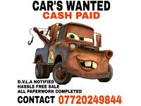 WE WANT YOUR USED CAR