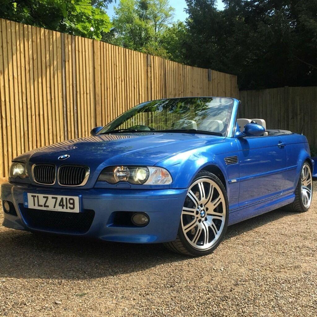 Bmw 328i Hardtop Convertible: BMW E46 M3 INDIVIDUAL CONVERTIBLE ESTROIL BLUE