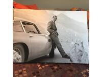 James Bond print